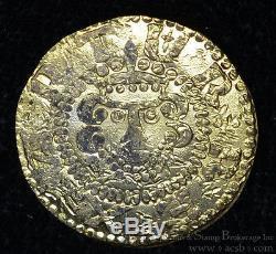 Great Britain 1 Penny King Arthur Camelot Fantasy Gold RARE