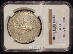 Great Britain 1895B Mint Mark Trade Dollar NGC AU58 Ultra Rare