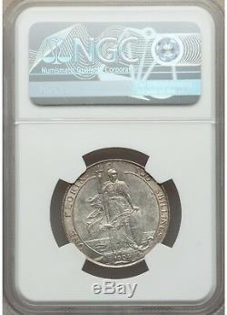 Great Britain 1904 Florin NGC MS61 Rare in uncirculated condition