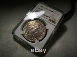 Great Britain Trade Dollar BTD Calcutta 1901-C NGC AU58 Attractive Toning RARE