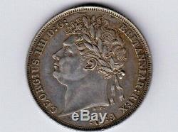 Great BritainKM-679, Shilling, 1821 King George IV RARE AUNC