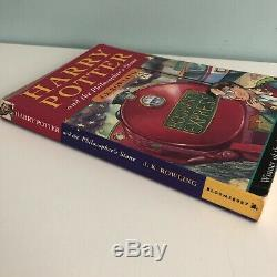 Harry Potter And The Philosophers Stone PB Book Rare First Edition 38th Print