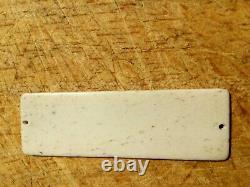 MALCOLM CAMPBELL DASHBOARD PLAQUE DASH BADGE 1930s ART DECO VERY RARE