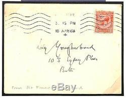 MS751 1916 GB TIBET EXPLORER Sir Francis Younghusband Handwritten Cover RARE
