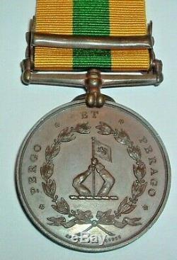 Medals-rare Original Officially Named Bronze British North Borneo Tambunan Bar