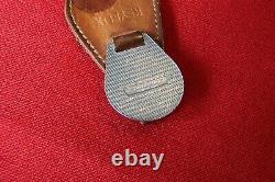 Mini Cooper Rare Vintage 1960's Original Enamel Keyring Fob Keychain Bmc