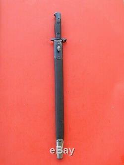 NICE ENFIELD 1907- Mk111 SWORD BAYONET /SCABBARD -EFD SANDERSON RARE