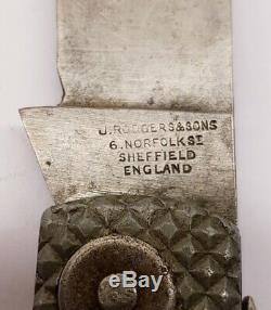 Near Mint Rare WW2 British Navy Army Jack Knife J. Rodgers & Son Sheffield 1943