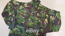 New RARE British Army Issue Vintage DPM Woodland Sniper Smock 160/88 Small S