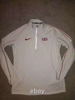 Nike Elite Issue Great Britain Element Training Top Size Medium Rare