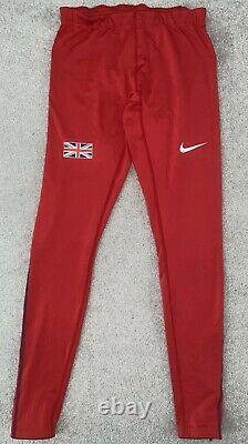 Nike Elite Pro Great Britain Track and Field Running Men's Tights Medium RARE