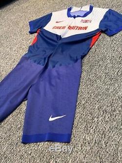 Nike Pro Elite Great Britain Speedsuit, Large/Medium, Rare, Sprint Suit, RaceDay