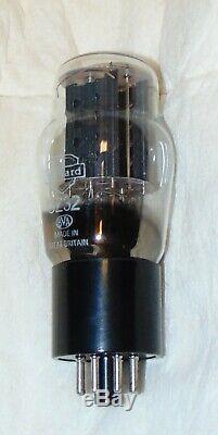 Nos Mullard Gz32 / 5y3g / U50 Tube Rare Giant Foil Getter Great Britain = Gz34