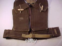 ORIG'L, RARE, MINT Brit Commando Bren Bra Vest (H&S 1943) HOLIDAY SALE PRICED