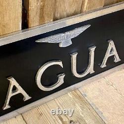 Original Jaguar Cars Dealership Sign. 1950's. Very rare. Great condition