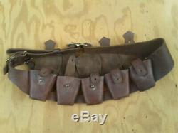 Original Pattern 1903 Mk. II Bandolier, HGR Stamped, Rare not a reproduction