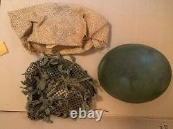 Original WW2 British MK2 Helmet Paratrooper 1944 Rare Airborne