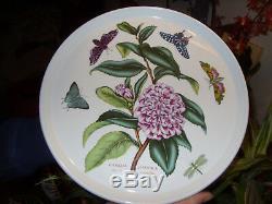Portmeirion Botanic Garden V Rare Double Camelia (camellia) Platter Vgc+ Lovely