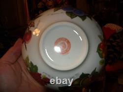 Portmeirion Pomona 6 Motifs Elder 6.5 Serving Bowl Rare Near Mint Apple Center