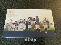 Queen Elizabeth II 2019 Culture Gold Proof Fifty Pence Set Only One On Ebay RARE