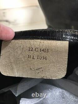 RAF 1952 pattern Flying /escape Boots Rare Size 11 postwar Flight Pilot WW2 40s