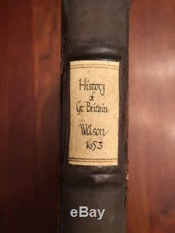 RARE 1653 History Great Britain, Life Reign King James I, London, Arthur Wilson