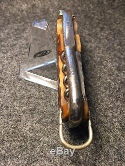 RARE 1900 HORSEMAN KNIFE (Sheffield Steel Products Ltd) BEAUTIFUL HANDLES