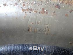 RARE AMC 1941 British Mark II MKII Steel Helmet by Austin Motor Company All Orig