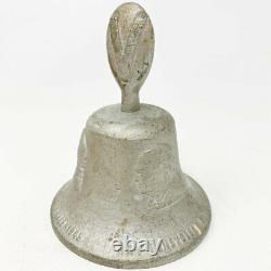 RARE! Bell Cast From Downed German Aircraft WWII RAF Battle of Britain Victory