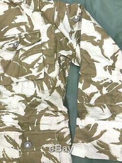 RARE British Army Issue Gabardine Desert Windproof Smock Jacket 190/112 #2772