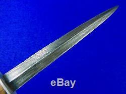 RARE British English Canada Canadian WW2 FAIRBAIRN SYKES Fighting Knife Sheath