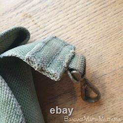 RARE British WW1 Pattern 1908 HAVERSACK coverted for OFFICERS USE ON SAM BROWNE