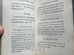 RARE Candy Cookbook CONFECTIONERS ORACLE Gunter's Receipts For Desserts
