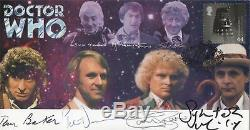 RARE Doctor Who DOCTORS UNITED Limited Edition Collectable MULTI-SIGNED