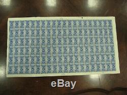 RARE GEORGE V 1935 JUBILEE 2 1/2d FULL SHEET MNH SG456 Cat £960 as singles