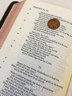 RARE Oxford Cambridge NEB New English Bible with Apocrypha ORIGINAL Goatskin