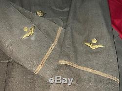 RARE WW1 RAF OBSERVER UNIFORM/TUNIC With BULLION CAP & PHOTO