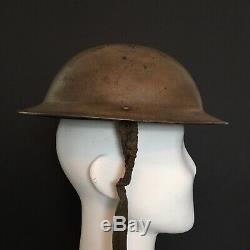 RARE WW2 British Argyll & Sutherland Highlanders Flashed Mk2 Tommy Helmet Desert