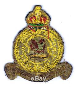 RARE WWII 3 (F) SQUADRON 3 Sqn RAF bullion patch