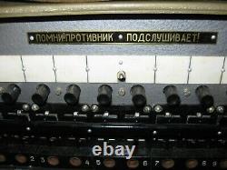 RARE WWII Soviet Field Telephone Switchboard