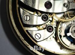 Rare 1943 WW2 Longines Cal. 18.89 Presentation Pocket Watch P. W. R.'s GF NICE