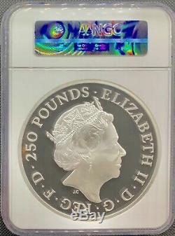 Rare 2017 Great Britain 20 oz £250 Britannia Silver Coin NGC PF69 UC 20th Anniv