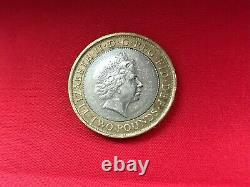Rare Abolition Of Slavery 1807 £2 pound coin Collectable With Rare Minting Error