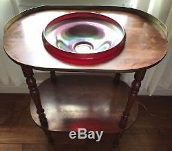Rare Antique Irish War-campaign Camp-furniture, Officers Wash-basin Table, Hobbs