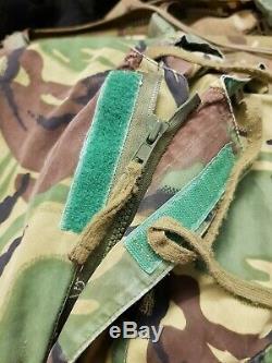 Rare British Army 1970s Falklands Era SAS DPM WIndproof Smock Size 2