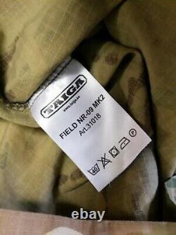 Rare British Army SAS Taiga MTP Multicam Field NR-09 MK2 Combat Shirt Large
