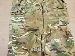 Rare British Army SAS Taiga MTP Multicam Field NR-09 MK2 Combat Trousers Large