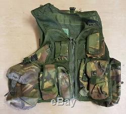 Rare British Army SAS UKSF DPM Woodland Camo Close Protection Trial Vest