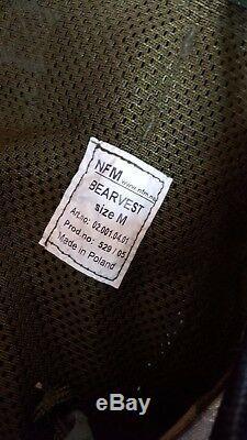 Rare British Army Woodland DPM UKSF NFM Tactical Bear Vest Size Medium