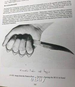 Rare British English Ww1 Issue Knife Dagger Sheffield Marked Blade